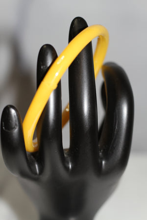 Yellow Glass Bangle