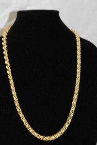 Pearl Gold Long Necklace