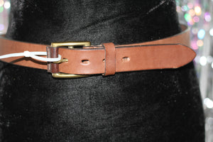 Old College Genuine Leather 32 Belt *Excellent Condition