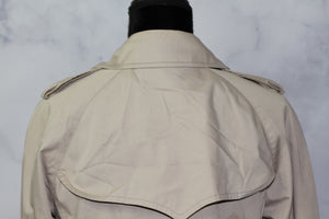 London Fog beige Double Breasted Trench Coat (8)