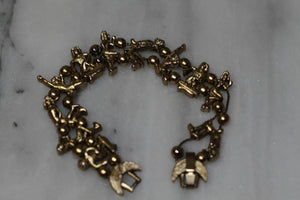 "Kirk Folly ""People"" Charm Bracelet"