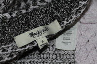 Madewell Grey & White Two Toned Sweater (S)