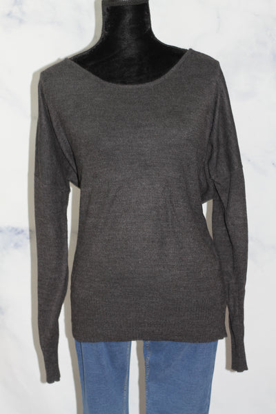 ANA A New Approach Grey Sweater (L)