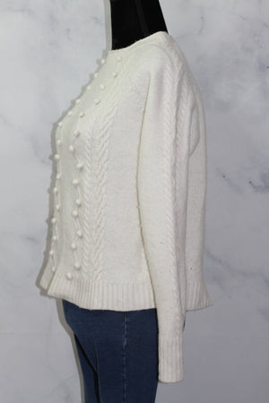 Anthropologie Wool Patch Sweater (L)