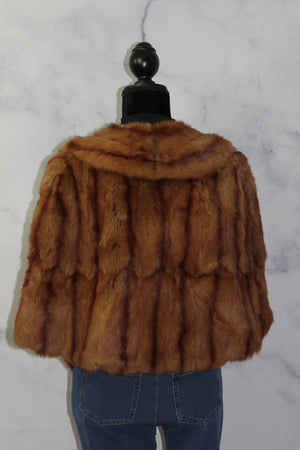 La Belle Fine Furs  Shawl Cape, Shawl, Poncho (One Size)