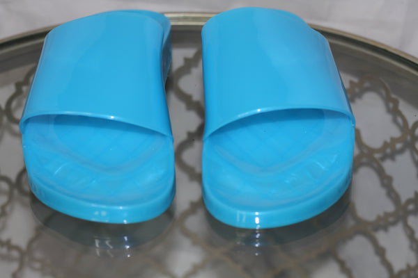 Blue Slide In Shoes *New (8)