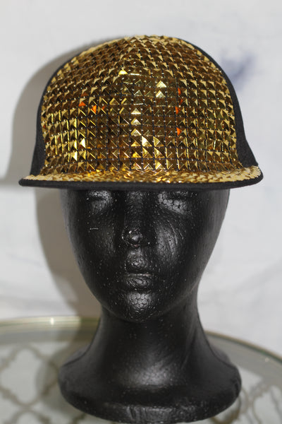 Gold Black Hat *New