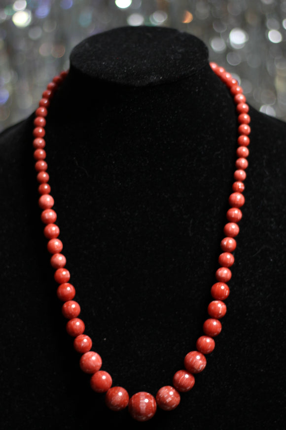 Wooden Authentic Beaded Necklace