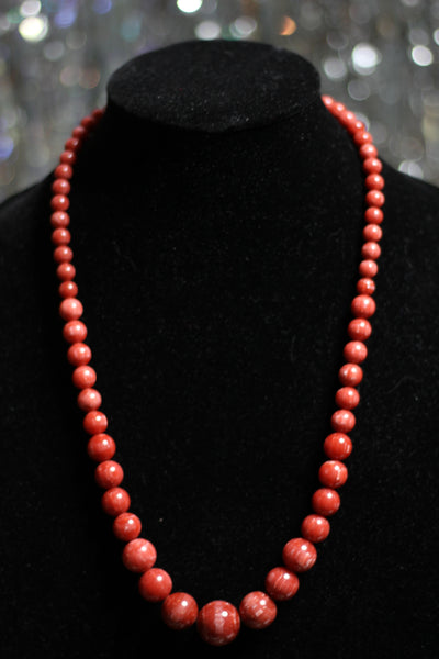 Authentic Wooden Beaded Necklace