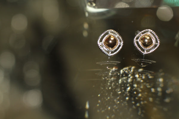 HMN Silver & Gold Earrings