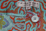 Trina Turk Cotton Floral Pants (10)