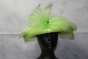Lily Hat Apple Green Pill Box Hat
