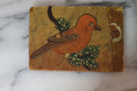 Marble Handmade Bird Box