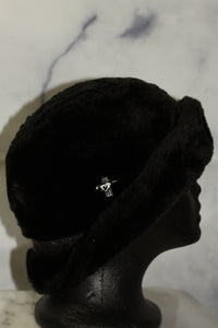 United Hatter Black Fur w/Paisley Band Silver Horse