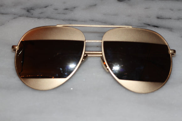 Two Tone Gold Sunglasses