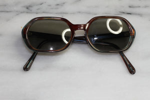 Universal Brown & Blue  RX Frames - Sunglasses 5 1/2