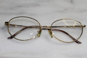 CAROLEE Prescription Round Gold  Rx Frames Glasses