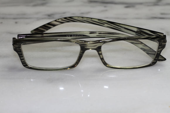 New York Black RX Frames Glasses