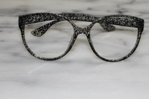 Black Rectangular Polka Dot Frames (Only)