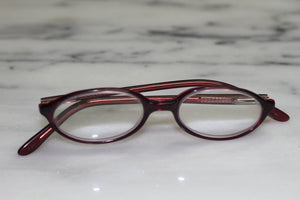 Kids Oval Purple Rx Frames - Glasses