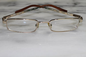 Alabama Gold Rectangular Rx Frames - Glasses