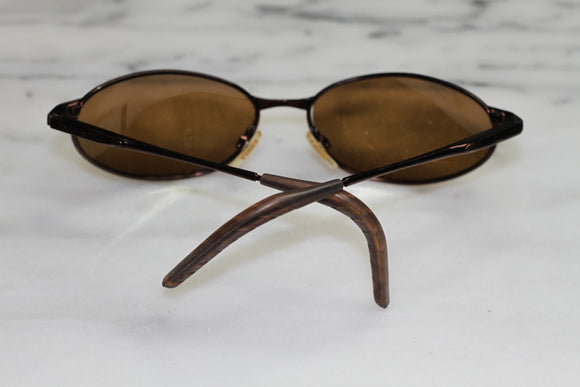 Panama Jack Wood Leaf Arms Round  Rx Frames - Sunglasses
