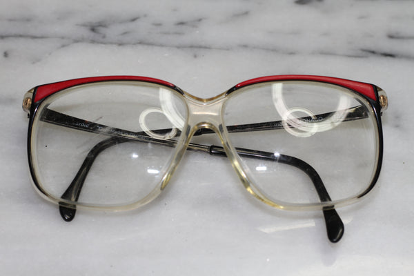 Red & Clear Rx Frames - Glasses