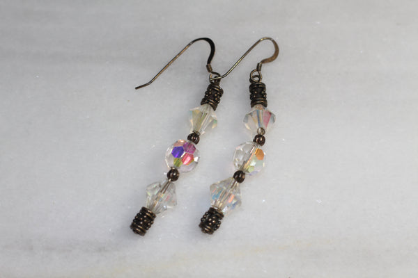 Iridescent Dangle Earrings