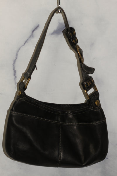 Coach Black Leather Should Handbag