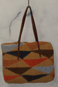 Lucky Brand Multi Color Shoulder Handbag