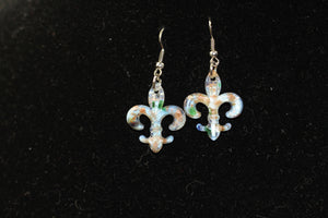 Fleur De Lis Dangle Earrings