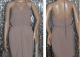 Salemia Silk Body Halter Dress (S)