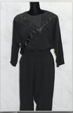 Regal - Cortiva Black Top + Pants Set (M)