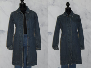 GAP Denim Trench Coat (M)