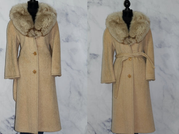 The Denise Collection Pure Mohair Trench Coat (16)