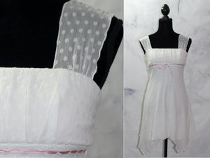 My Michelle White A-Line  Dress (S)