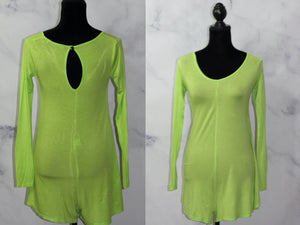 Green Cotton Romper (6)