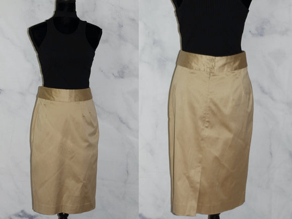 Banana Republic Stretch Cotton Skirt (6)