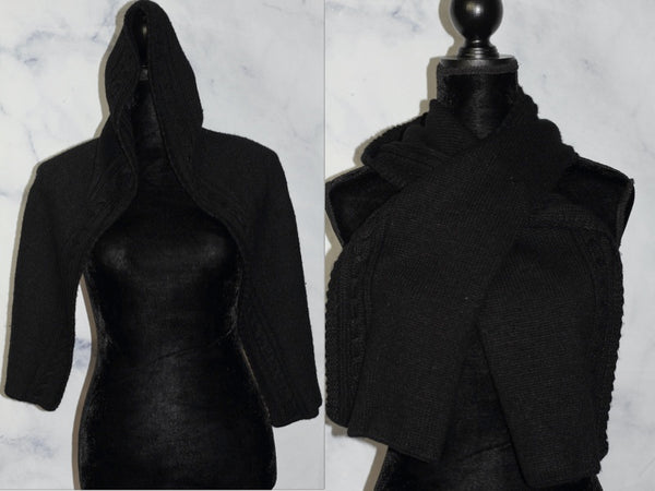Black Multi Purpose Scarf
