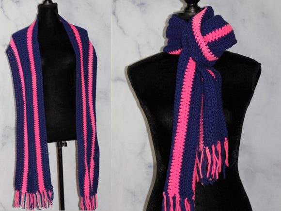 Blue & Pink Scarf