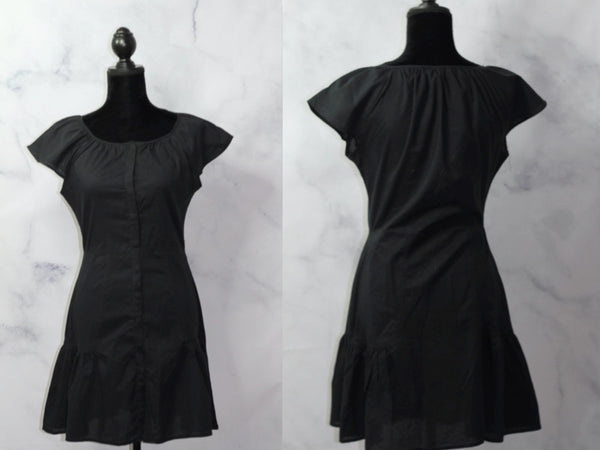 BCBG To The Max Black Sheath Dress (S)