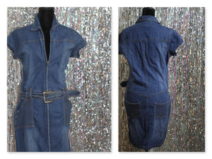 American Rag 7 Denim CottonA- Line Dress (M)