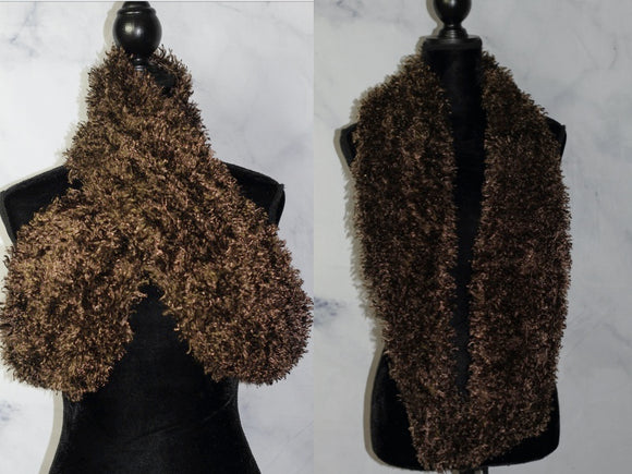 Brown Multi Use Scarf