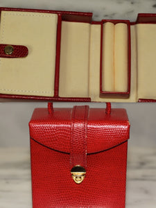 Red Jewelry Box, Travel Box