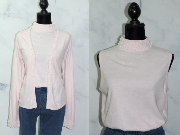 Mercer Street Studio 2 piece top & Sweater (PL)