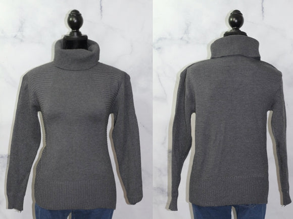 Happie Wool Turtle Neck Sweater (L)