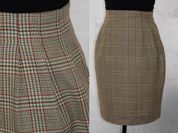 Casual Corner Plaid Skirt (xs)
