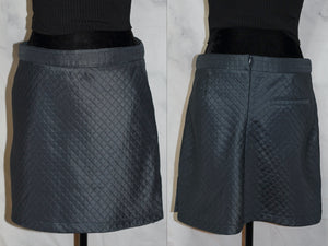 GG Quilted Blue Skirt (8)