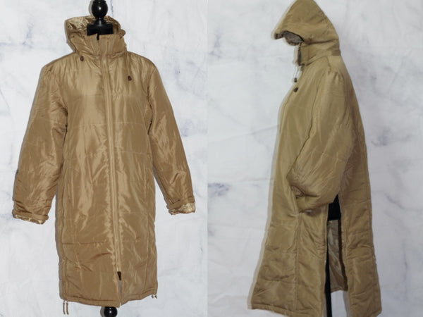 Two Way Camel Puncho Winter Coat (s-m)