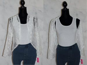 White Knit Top (XL)